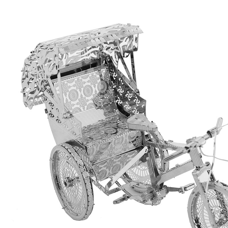 Rompecabezas modelo 3DMetal Multi-estilo DIY Laser Cut Rompecabezas - Juegos y rompecabezas - foto 5