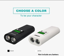 li-ion 18650 battery chargers intelligent charger flashlight torch phone charger Dual USB External Charger Power bank case box universal 5200mah external li ion battery charger power bank w led indicator usb cable white