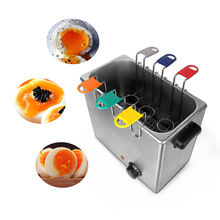 цены Electric Egg Boiler 6 Basket Egg Slow Cooker Boiled Egg Soft-boiled Egg Poacher Egg Steamer Kitchen Processor Machine