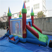 Inflatable Combo Slide Bouncy Castle children's inflatable bouncer trampoline slide with CE/UL blower YLW-bouncer 204