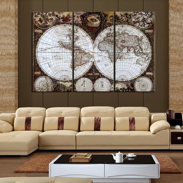 Classic style home decoration 5d diy diamond painting 3pcs for Room decor 5d