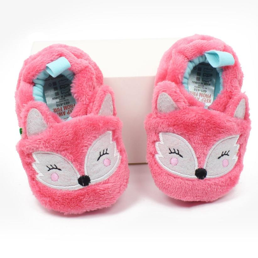 2017 Winter Shoes Baby Boy Soft Infant Toddler Newborn Warming Shoes NO6
