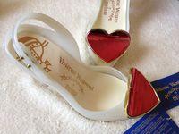 Womens Open Toe Heart Decor Stilettos High Heel Pumps Slingback Sandals Jelly Shoes Sexy Summer 2Colors A159