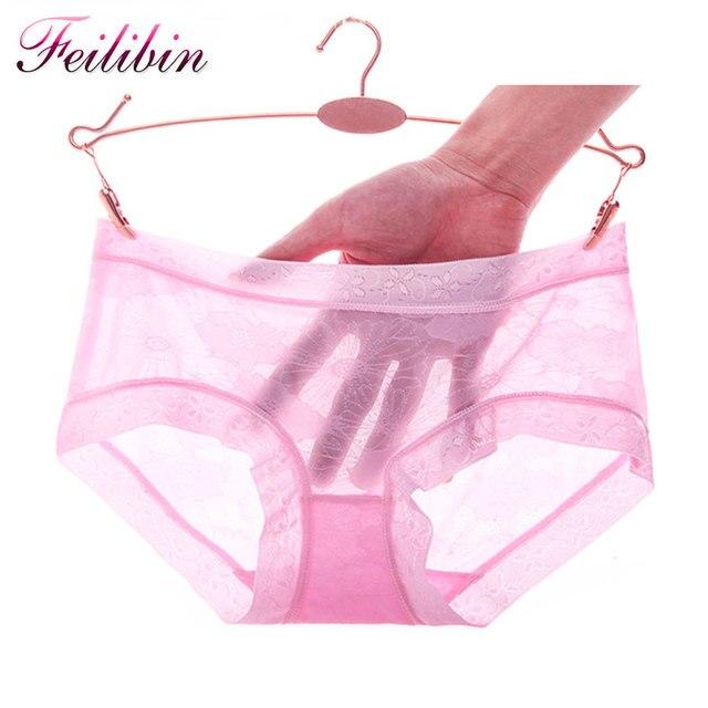 8fdfee5e9 2017 Verão Novas Mulheres Lingerie Sem Costura Calcinha Sexy Cuecas  Transparentes Intimates Calcinha Mulheres de Conforto