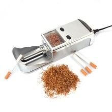1 шт. Электрический легко автоматическое сигареты станок табака инжектор чайник ролика Прямая доставка