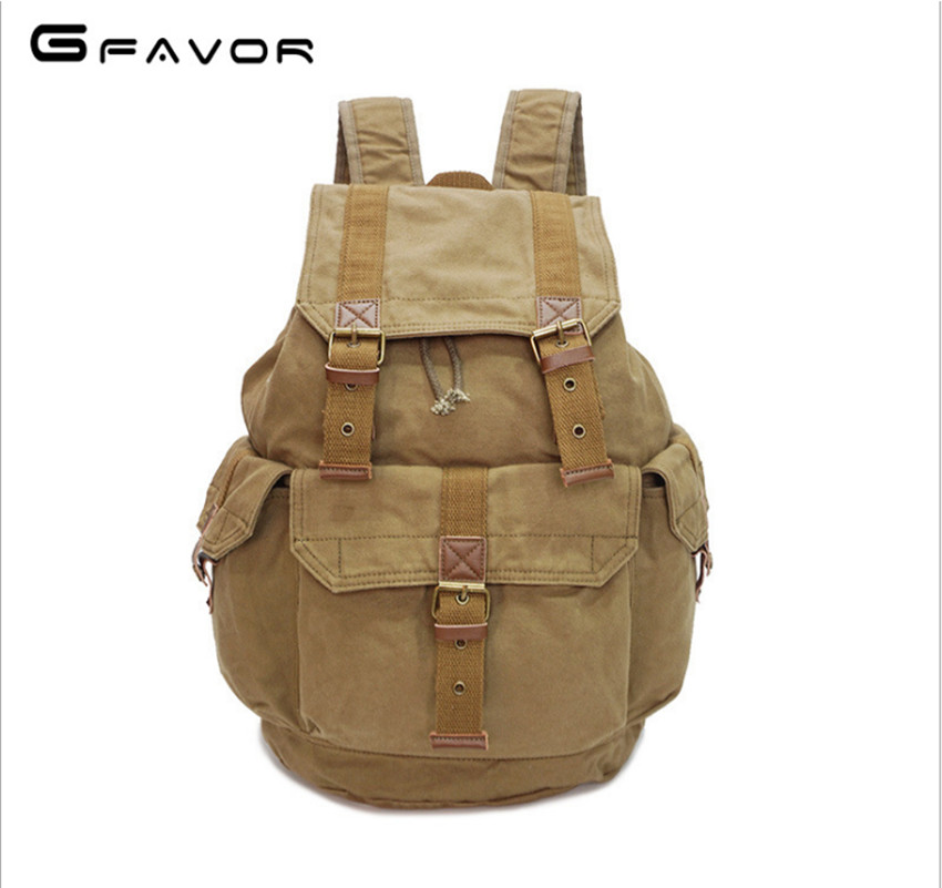 2017 New fashion men's backpack vintage canvas backpack school bag men's travel bags large capacity travel backpack bag 2018 new fashion men backpack vintage canvas backpack school bag men s travel bags large capacity travel backpack bag wholesale