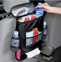 Car Back seat organizer and cooler Bag