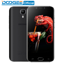DOOGEE X9 Pro LTE D'empreintes Digitales mobile téléphones 5.5 Pouces HD 2 GB + 16 GB Android 6.0 Double SIM MTK6737 Quad Core 8.0MP 3000 mAH WCDMA GPS