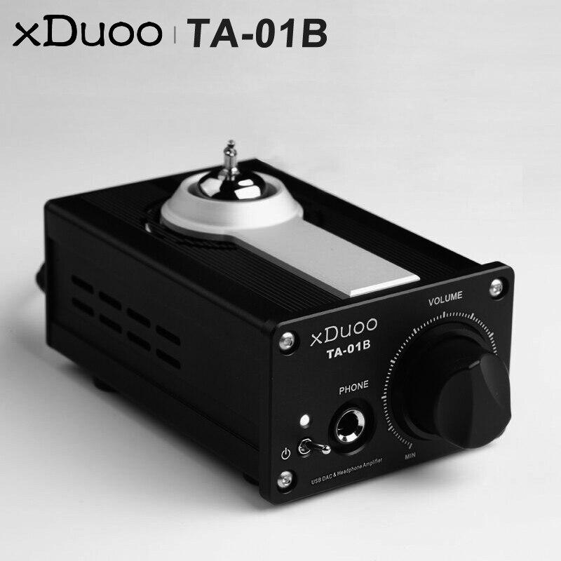 XDUOO TA 01B HiFi аудио Высокая производительность USB ЦАП ламповый усилитель для наушников AMP USB декодирования транзистор двойной CS4398 ЦАП 12AU7