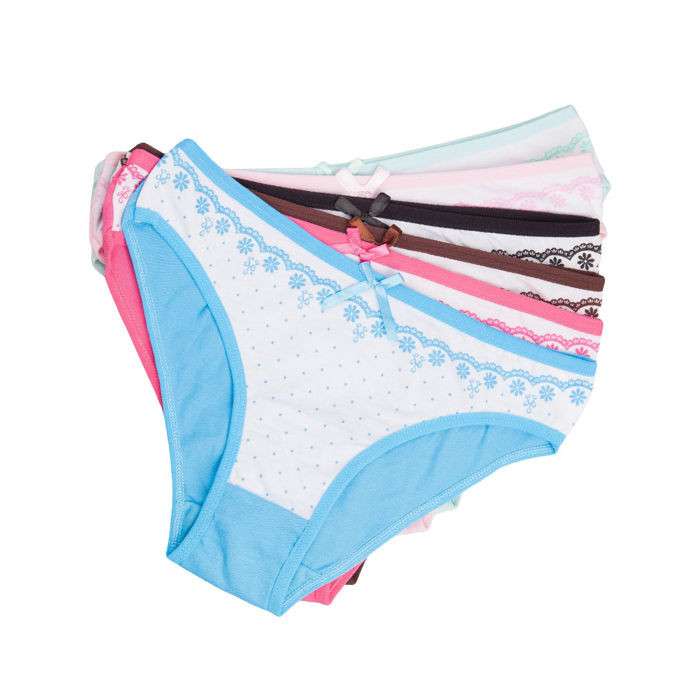 68bdf680cae Dropwow YOUREGINA Underwear Women Sexy Hipster Panties Cotton Ladies ...