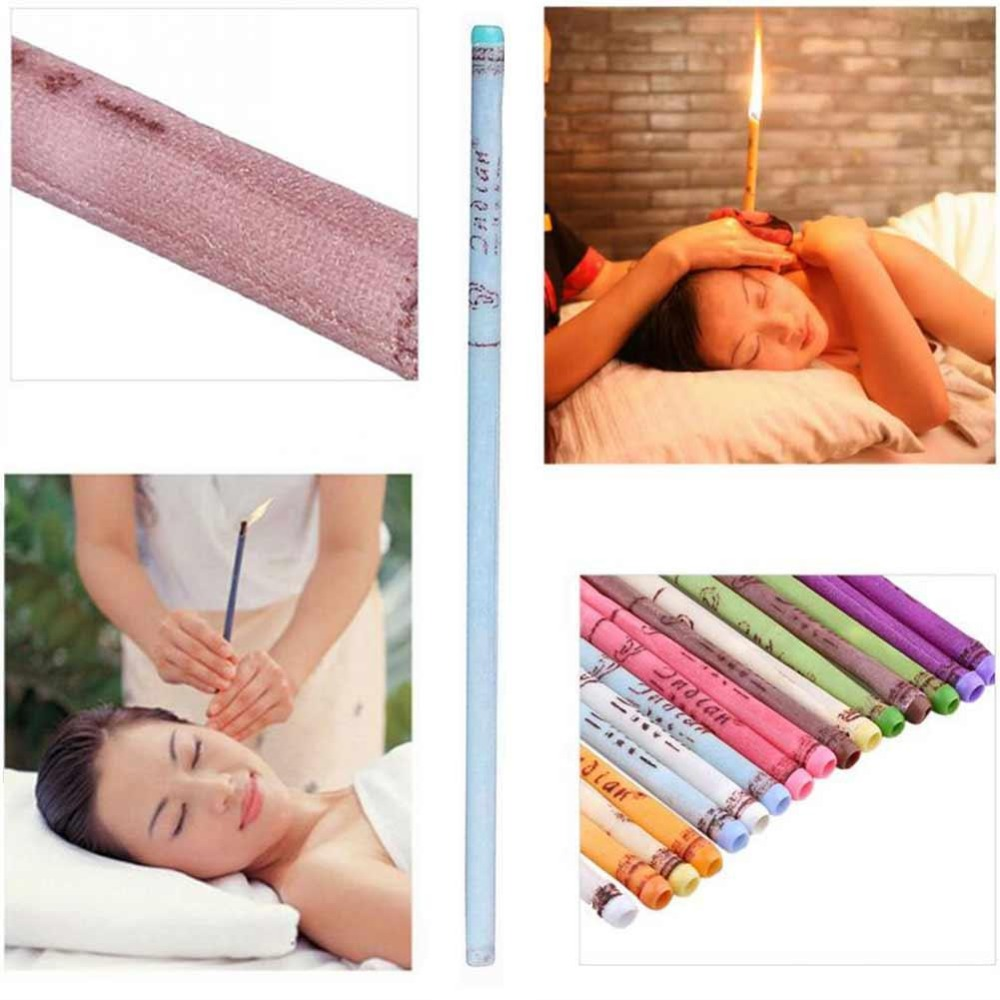 Image 5 - 10pcs/lot ear wax removal candle cleaning candles Healthy care hollow Coning treatment Indiana Therapy fragrance wax candle-in Ear Care from Beauty & Health