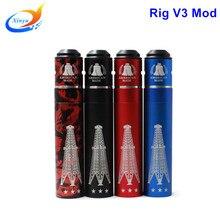 บุหรี่อิเล็กทรอนิกส์Rig V3โคลนสมัยกลที่มีคุณภาพสูงvapeสมัยvsสมัยกล่องสามารถพายุคนโง่macth RDA RTA RBAเครื่องฉีดน้ำ