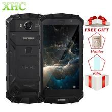 IP68 DOOGEE S60 Wireless Charge 5580mAh Mobile Phone Helio P25 Octa Core 1920 1080 FHD Smartphone