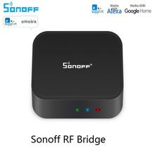 Works With Alexa Google HomeSonoff RF Bridge 433Mhz WIFI Wireless Signal Converter PIR Door Sensor