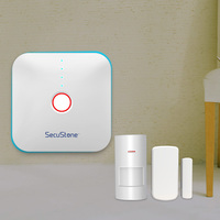 APP Remote Control WIFI Burglar Alarm System