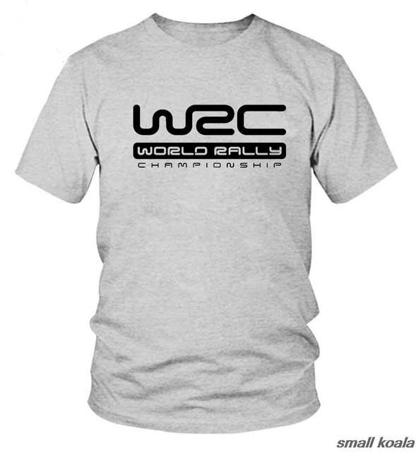 177d4aadca2c 2017 New Logo Print T Shirt European and American World Rally Championship  WRC Style Short Sleeve T shirt Hot Summer Tee Tops-in T-Shirts from Men's  ...