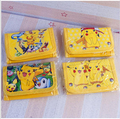 1 Unids Pokemon Pikachu Lindo Niños Bolsa de Dibujos Animados Los Niños Monedero Del Regalo Del Partido de juguete