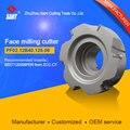 Высокоточный прочный фрезерный станок с шестью зубьями для токарного станка с ЧПУ mavhining PF02.12B40.125.06