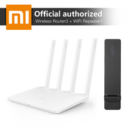 Xiaomi MI WiFi Wireless Router 3 English Version White 128MB RAM DDR2 2 4G 5GHz And