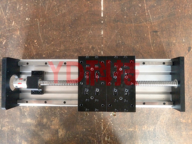 GX155 * 150 1610-1000mm course efficace vis à billes linéaire glisser module linéaire guide rail table de travail WTHOUT moteur