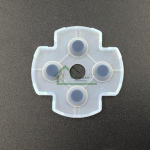Image 2 - [100เซ็ต/ล็อต]สำหรับSony PS3ควบคุมD Ual S Hock 3ส่วนซ่อมซิลิโคนc onductiveแผ่นยางเปลี่ยน