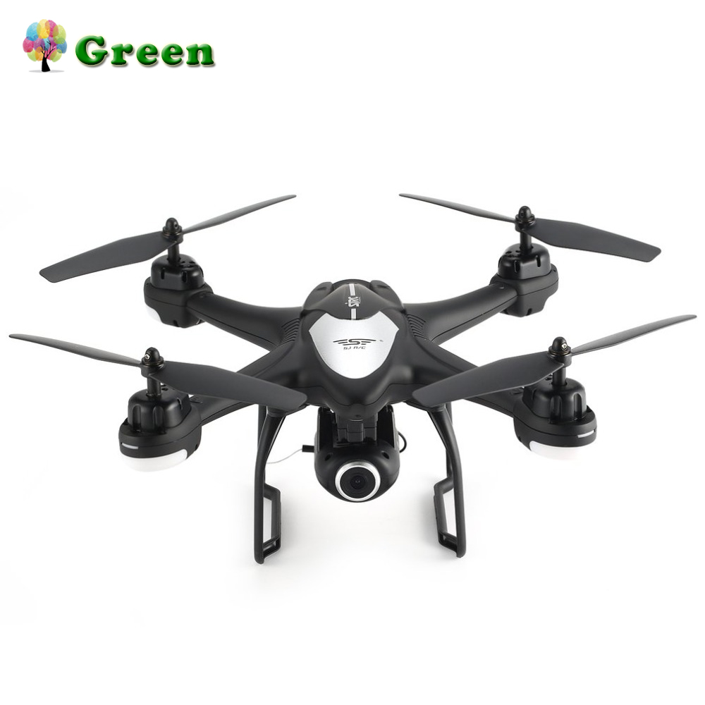SJ R/C S30W 2.4G Dual GPS Positioning FPV RC Quadcopter Drone with 720P Adjustable Wide Angle Wifi Camera Follow Me HoveringSJ R/C S30W 2.4G Dual GPS Positioning FPV RC Quadcopter Drone with 720P Adjustable Wide Angle Wifi Camera Follow Me Hovering