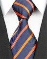 """3 """"/7.5 cm de Ancho Accesorios de Hombre Patrón de Rayas Jacquard Corbata para Los Hombres Traje de Boda de Negocios Corbata Seda Sarga lazos ST75002-59c"""