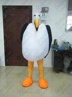 popular seagul mascot costume sponge materials cover head