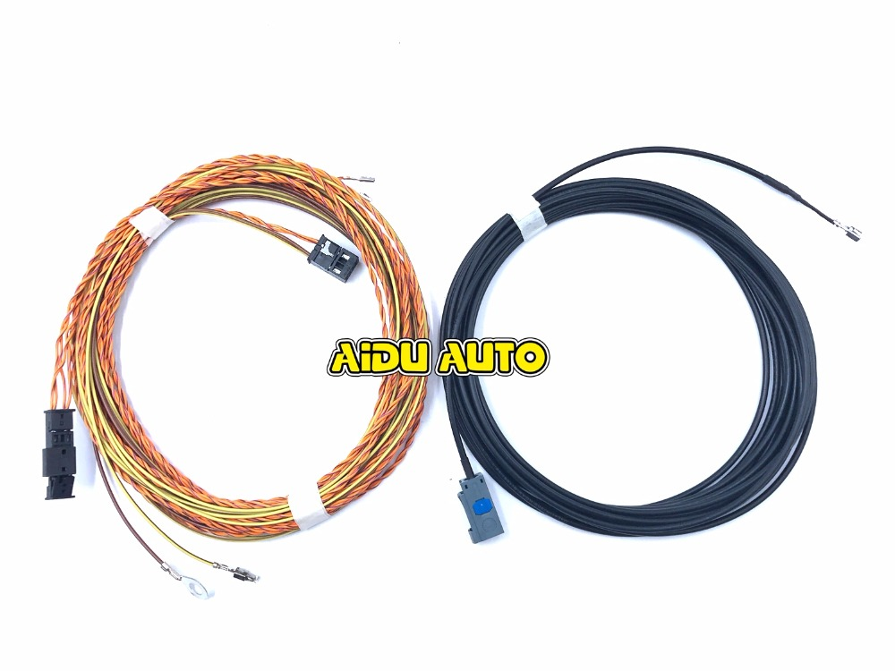 HighLine Camera install Wire For MIB New MQB Tiguan Audi A4 A5 8W Q7 4M A3 8V