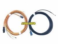 TRUNK REAR VIEW REVERSE HighLine Camera install Wire Loom Harness For MIB Tiguan Audi A4 A5 8W Q7 4M A3 8V Octavia SUPERB