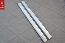 Stainless Steel 2PCS Door Sill Scuff Plate Protected For Audi A1 2011 2012 2013 2014