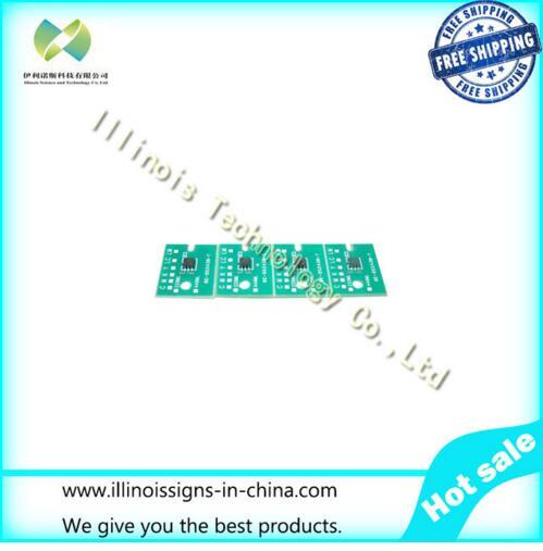 One-time Chip for Mimaki JV3 ES3 Cartridge 4 colors CMYK printer parts