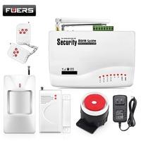Inalámbrico Sistema de Alarma Para El Hogar Sistema de Alarma de Seguridad Inalámbrica GSM Sistemas de Alarma de Seguridad Del Sensor de Doble Antena GSM10A