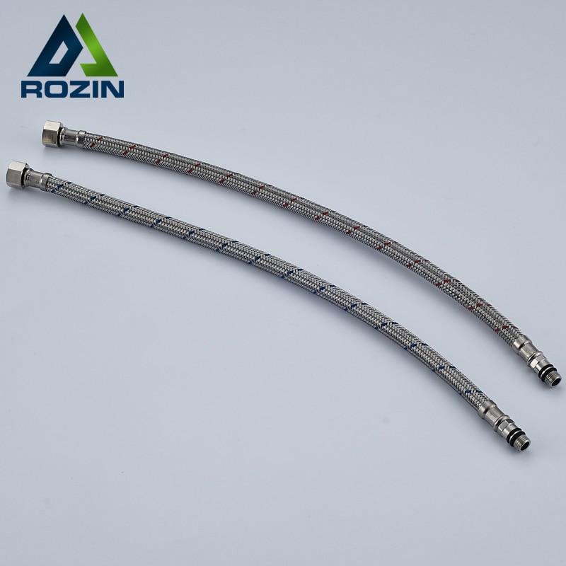Une paire de tuyaux mélangeur froid/chaud Flexible pour robinet dalimentation en eau de 60cm, livraison gratuite