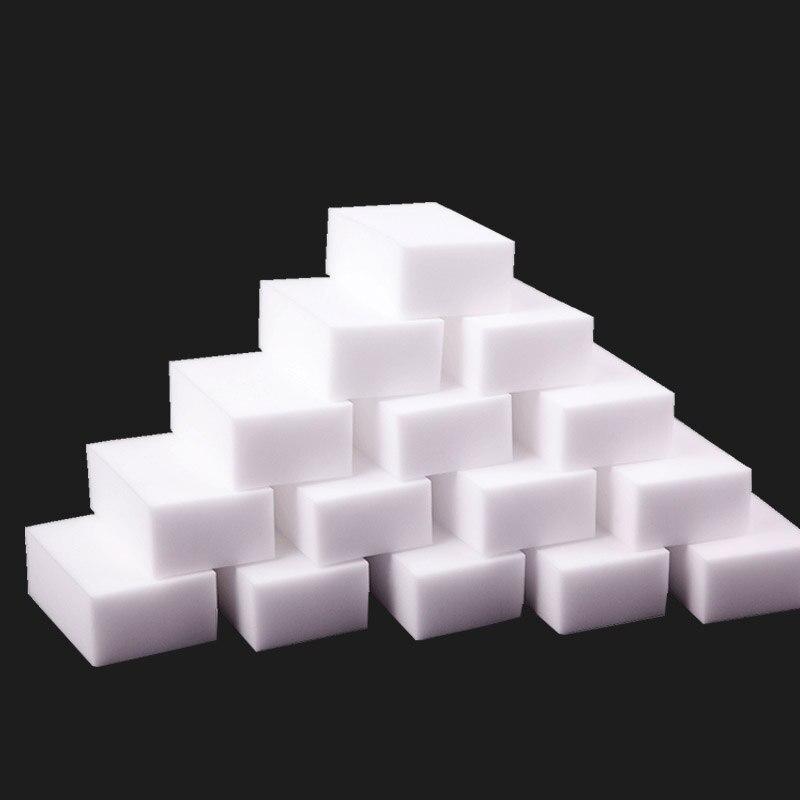 100/40/20/10pc esponja mágica borracha melamina esponja cozinha limpa acessório/banheiro/escritório prato limpeza por atacado 10x6x2 cm