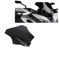 Motorcycle Black Motorcycle Windshield WindScreen For YAMAHA MT 09 MT 09 Tracer Double Bubble