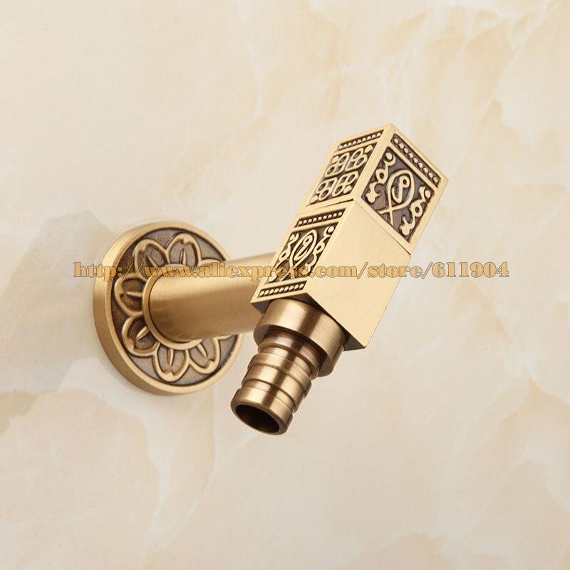 Antique Brass Artistic Laundry Bathroom Washing Machine Faucet ...