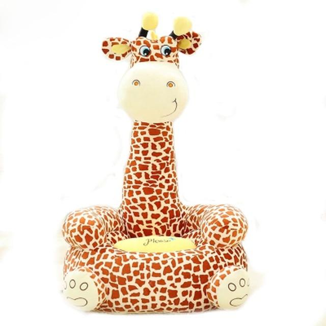 sofa baby seat beanbag cartoon kawaii cute giraffe children sofa for