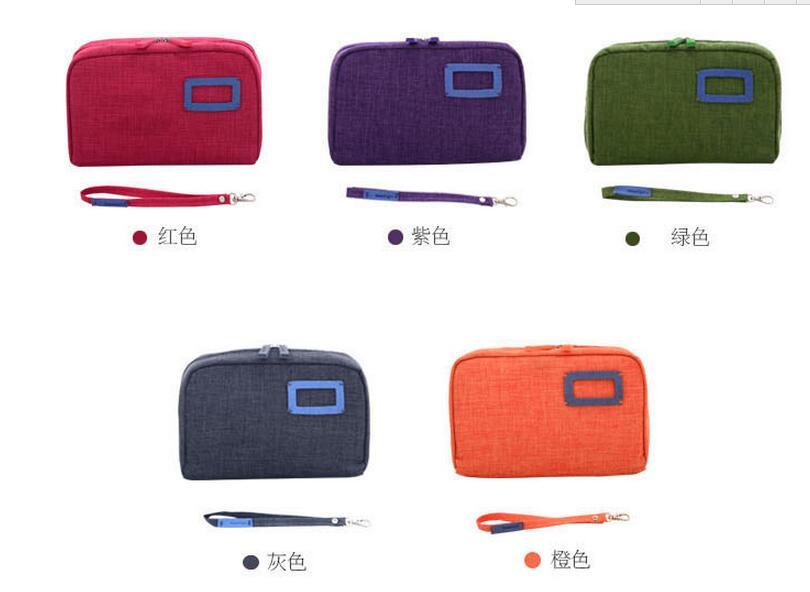 Coton Dhl Mode Nouvelle De Lin Portable Stockage Sacs Pièces Maquillage Cosmétiques 2019 Pochette Voyage 30 Organisateur qRRwrt8