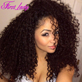 "Wholesale Kinky Curly Wig Synthetic Lace Front Wigs 14""-32"" Cheap Wigs Synthetic For Black Women Afro Black Wigs for Women"
