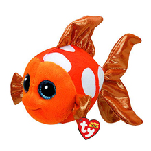 Ty Beanie Boos Stuffed Plush Animals Goldfish Toy Doll With Tag 6 15cm
