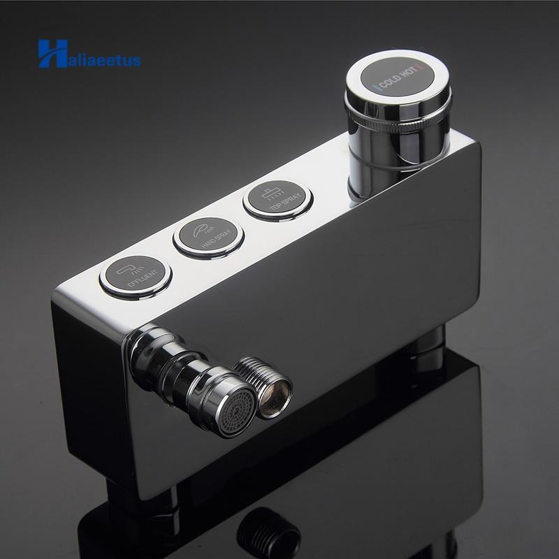 New Design Button Control Shower Faucet, Single Handle Mixer Tap.Shower Mixing Valve Faucet.shower valve.shower mixer