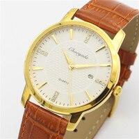 CHAOYADA Original Watch Men Top Brand Luxury Men Watch Leather Clock Men Watches Relogio Masculino Horloges