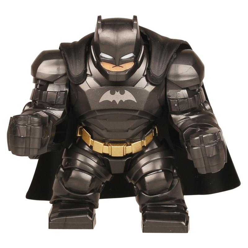 Decool 0295 Batman Action Figure Building Blocks 7cm+ DC Big Man Size Armed Batman VS Av ...