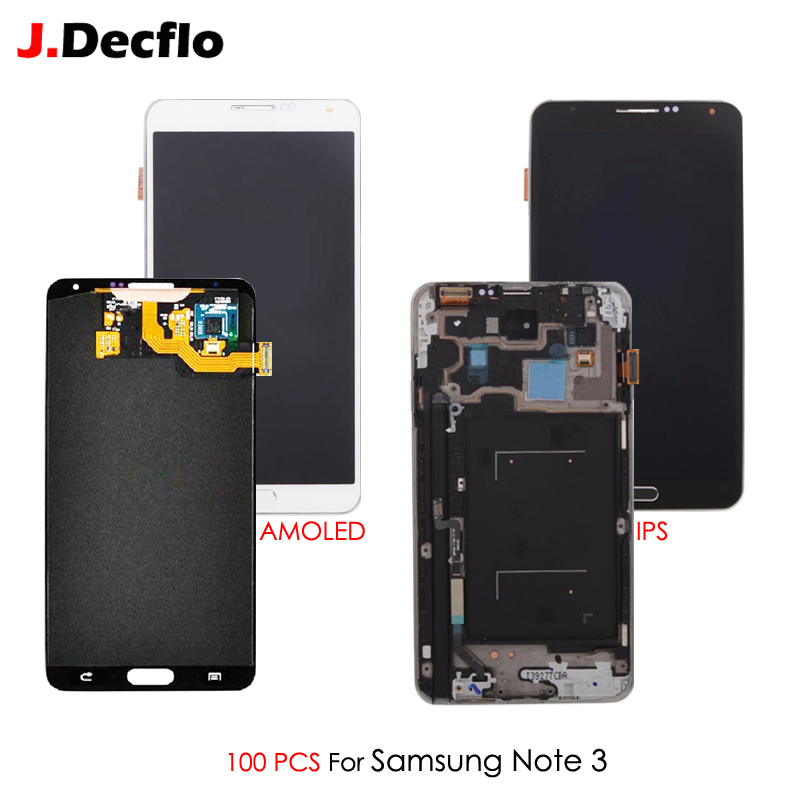 Digitizer-Assembly SM-N9005 Samsung Galaxy Touch-Screen Note 100pcs for 3-iii/Sm-n9005/Sm-n900/5.7''