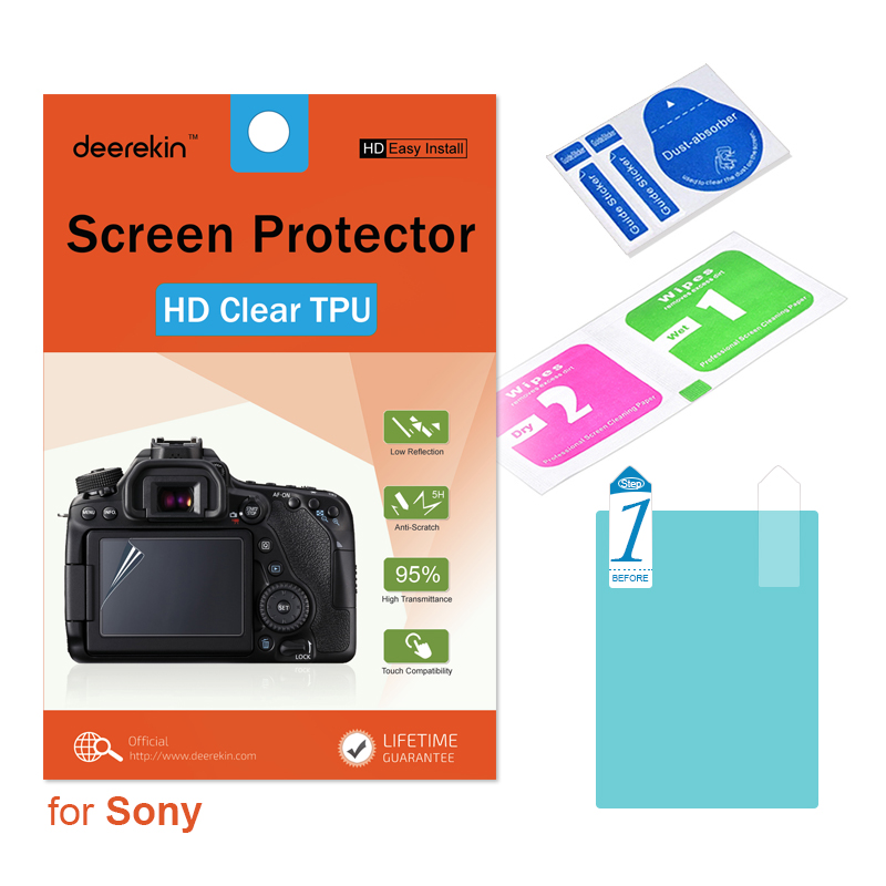 Soft Screen Protector Film for  Sony RX100 VI M6 Cameras
