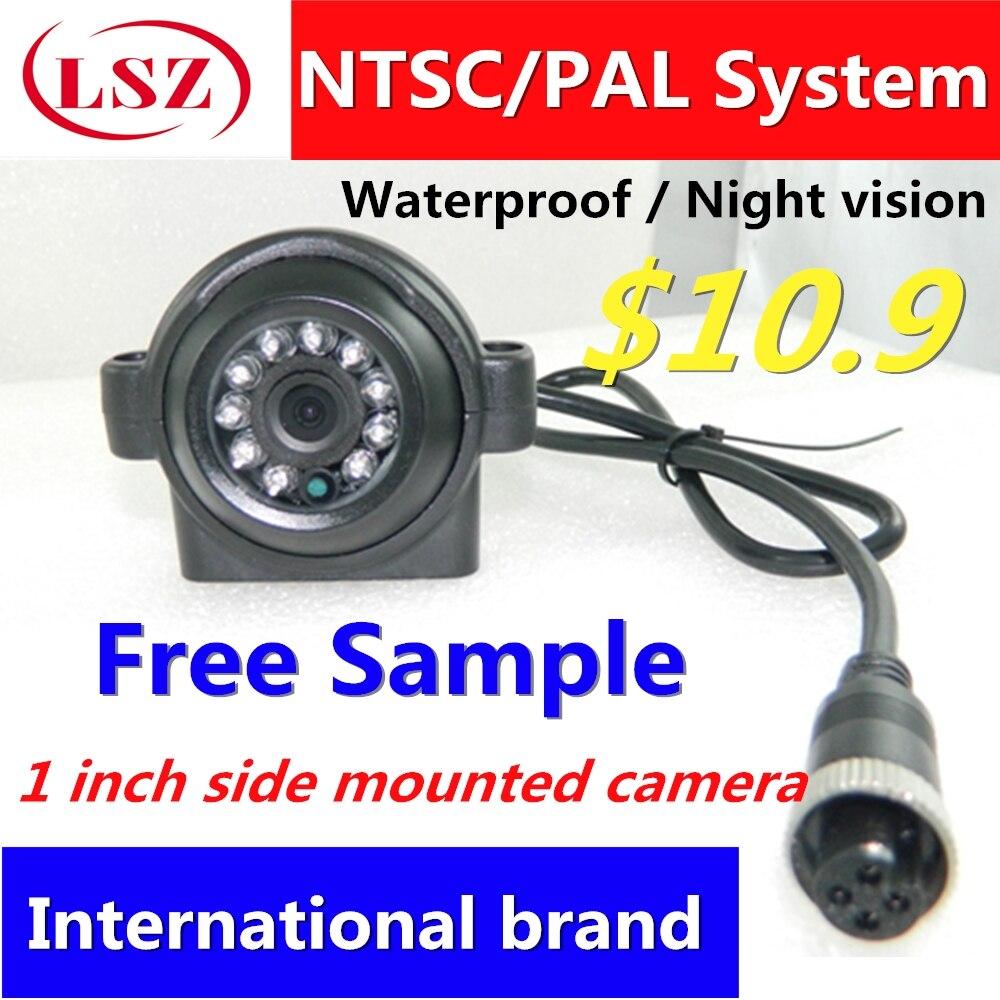 1 inch side mount camera metal shell factory direct batch car camera ambulance truck waterproof seismic