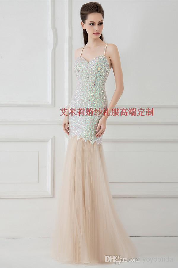 free Shipping Cheap women summer   dress   luxury crystal vestidos de festa 2016 new fashion sexy backless long party   prom     Dresses
