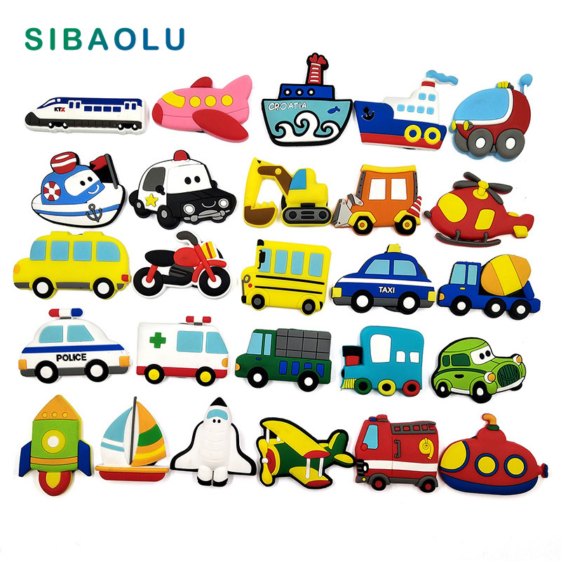 Transportation Fridge Magnets Cartoon Car Boat Bus Whiteboard Sticker Refrigerator Magnets Kids Message Post Home Decoration Fridge Magnets Aliexpress