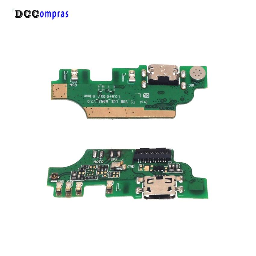 Placa de cargador USB para leagoo M8 cargador de las piezas de reparación para leagoo M8 pro